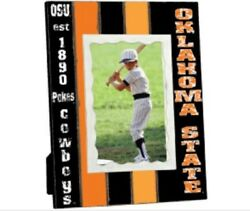 Osu Oklahoma State Cowboys Collegiate 3.5 X 5.5 Licensed Wood Picture Frame