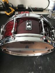 mapex black panther snare Cherry Bomb. 13x5.5
