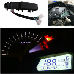 Multi-function Motorcycle Tachometer Cluster Led Indicators Precise Instruments