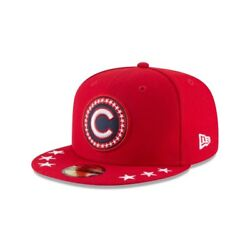 Chicago Cubs New Era 59FIFTY 2018 All-Star Game Workout Patch Fitted Cap