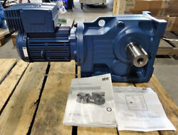 Sew Eurodrive Movimot Mm 22 Gearmotor W/ Inverter Duty K87dre100l4/mm22/mo/dh