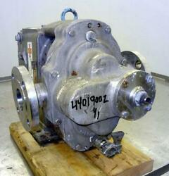 Waukesha 5050 Rotary Positive Displacement Pump Stainless 44019002