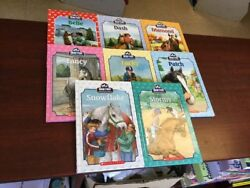 Lot Of 8 BREYER STABLEMATE Books ALL HC Scholastic Stormy Fancy