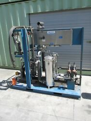 US FILTER ULTRA VIOLET DISINFECTION UNIT w MULLER ACCU-THERM HEAT EXCHANGERS