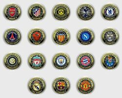 Set Of Coins 10 Rubles World Football Clubs 18 Coins Russia