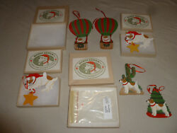 BOXED DANDY DESIGN JACK RUSSELL TERRIER DOG ORNAMENT LOT DOGS ON THE MOVE CACTUS