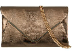 LeahWard Women's Clutch Bag Flap Wedding Evening Prom Handbags Faux Snakeskin