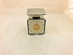 Pelouze Vintage Scale 16 Oz. Model K16ss In Good Working Condition
