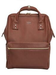 Kah&Kee Leather Travel Notebook Backpack Laptop School Diaper Bag for Women...