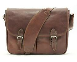 Tony Perotti - Italian Leather Messenger Laptop Briefcase Satchel Mens Bag