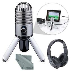 Photo Savings Samson Meteor Mic Studio USB Condenser Microphone Headphones...