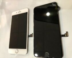 B Iphone 7+ Plus Digitizer Lcd Front Screen Assembly A1661 A1784 A1785 A1786