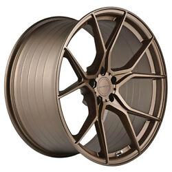 20 Stance Sf07 Forged Bronze Concave Wheels Rims Fits Infiniti G37 G37s