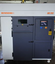 Metal 3d printer Renishaw AM250 Selective Laser Melting (SLM)  Additive manuf.