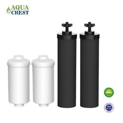 Fits Black Berkey Replacement Filters Bb9-2 And Fluoride Filters Combo Aquacrest