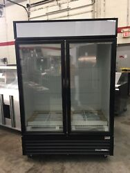 True GDM-49F-HC~TSL01 - 2 Door Display Freezer - Made 1217 - New Never Used