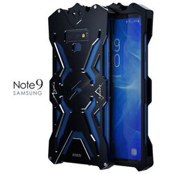 Heavy Duty Aluminum Metal Armor Shockproof Case Cover For Samsung Galaxy Note 9