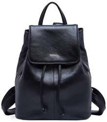 Genuine Leather Mini Backpacks for Women Cute Travel Bags Small Purse Girls