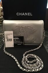 CHANEL Authentic WOC WIth Large CC Crystals-NWT