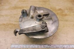 1970and039s Yamaha Hs1 90cc Twin Y765 Front Hub Brake Plate
