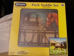 BREYER TRADITIONAL # 2496~PACK SADDLE SET~LIMITED EDITION!~2015 NEW IN BOX~RARE