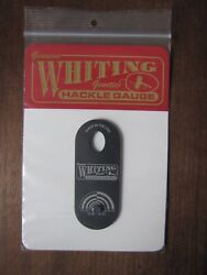 Fly Tying Whiting Farms Hackle Gauge - Slate