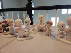 Precious Moments Lot Of 152 Pieces No Boxes St Clair, Mi Will Not Ship