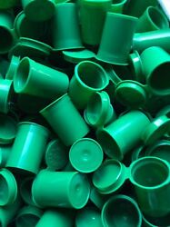 8 Dram Green Opaque Pop Top Vial Pharmacy Bottle Stash Jars Container Made Usa