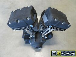 EB524 2006 06 HARLEY DAVIDSON FXSTBI NIGHT TRAIN 88CI ENGINE MOTOR ASSEMBLY