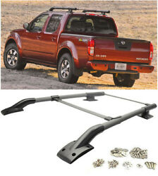 Factory Style Cross Bar Luggage Carrier Roof Rack Rail For 05-17 Nissan Frontier