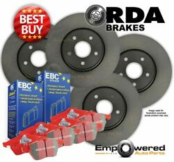 FULL SET RDA DISC BRAKE ROTORS + PADS for Commodore HSV Clubsport 1997-2006