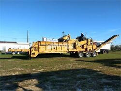 2007 vermeer hg6000 horizontal grinder chain table feed runs and operates well