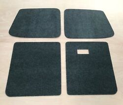 Vw T5 Interior Panels Back Door Cards Carpeted Onto Plyline Ply Lining Camper A