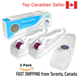 Original Voccacareandtrade Derma Rollers 2 Rollers Set - Fast Shipping From Canada