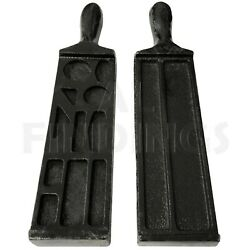 7 Cast Iron Ingot Wire Mould Silver Gold Bar Foundry Melting Casting Metal Tool
