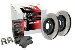 StopTech 934.80003 Street Axle Pack Fits 98-02 FVR