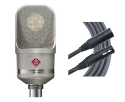 Neumann TLM107 Nickel Cardioid Condenser Microphone TLM107 Mic + Mogami Cable
