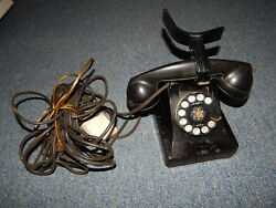 Vintage Western Electric Bell System Rotary Desk Phone Telephone R18355