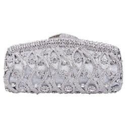 Fawziya 8 Pattern Bling Purses For Women Clutches And Evening Bags