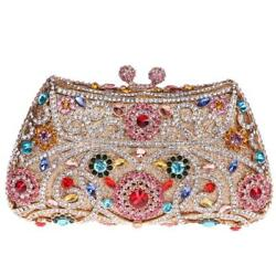 Fawziya Kisslock Purse Mini Size Evening Bags And Clutches For Women