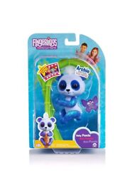 🔥wowwee🔥 Fingerlings Glitter Panda- Archie New Great Christmas Gift