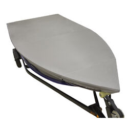 Lunatic 14and039 - 16and039 V-hull Fishing Boat Cover - Silver