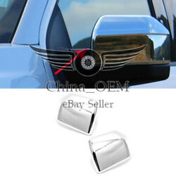 For 2015 - 2017 2018 2019 Ford F150 Chrome Mirror Covers Overlays Moulding Trim
