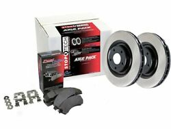 Fits 2008-2014 Mercedes CL63 AMG Brake Pad and Rotor Kit Front Centric 19112YJ 2