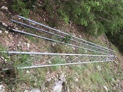 40FT Communications Tower in 10 Ft Sections TV Light Truss Antenna Lot Of 4