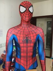 Spiderman Costume Halloween Cosplay Spider Man Superhero Zentai Suit For Adult