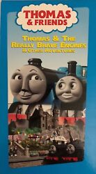 Thomas And Friends Thomas And The Really Brave Engines Vhs 2006-tested-rare-ship 24h