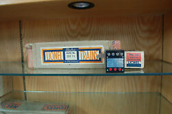 Lionel Outfit 263tw Box Only With 66 Whistle Controller And Box
