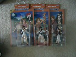 Love Hina Again Action Figure Set Ping Pong Naru Anime Sdcc