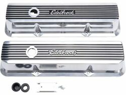 Fits 1962-1971 Ford Galaxie 500 Valve Cover Set Edelbrock 73767ty 1968 1963 1964